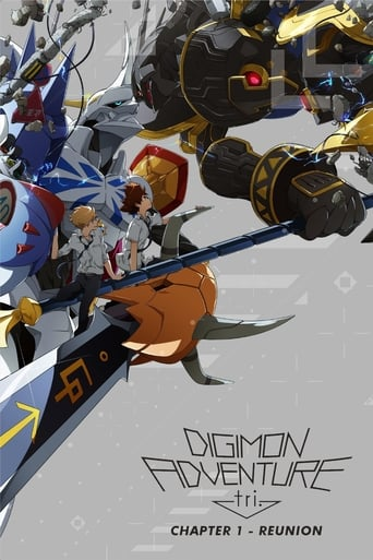 Poster of Digimon Adventure tri. Part 1: Reunion