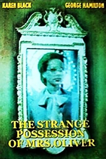 Poster of The Strange Possession of Mrs. Oliver