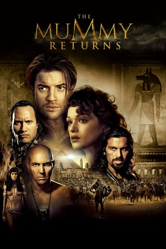 Poster of The Mummy Returns