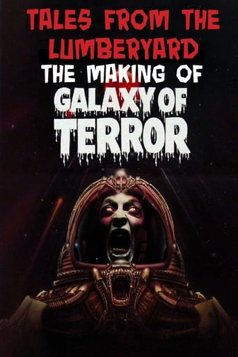 Poster of Tales From The Lumber Yard: The Making of Galaxy Of Terror