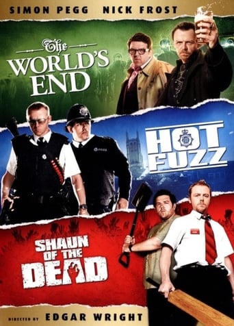 The Three Flavours Cornetto Trilogy poster
