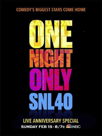 Poster of Saturday Night Live: 40th Anniversary Celebration