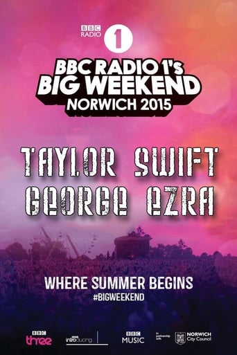 Poster of Taylor Swift - BBC Radio 1 Big Weekend 2015