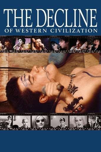 Poster of The Decline of Western Civilization