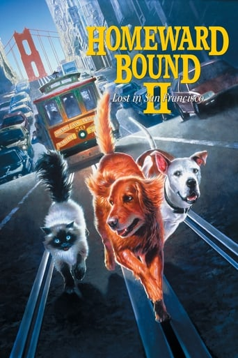 Poster of Homeward Bound II: Lost in San Francisco