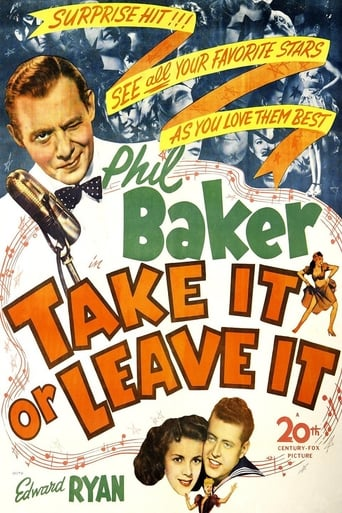 Poster of Take It or Leave It