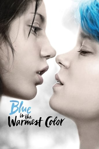 Poster of Blue Is the Warmest Color
