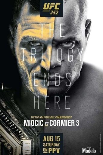 Poster of UFC 252: Miocic vs. Cormier 3