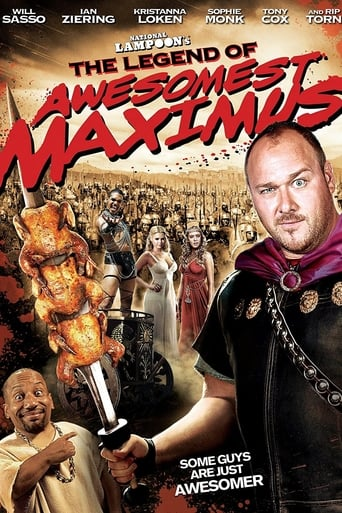 Poster of National Lampoon's The Legend of Awesomest Maximus