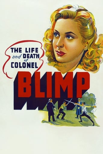 Poster of The Life and Death of Colonel Blimp