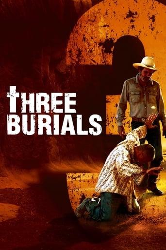 Filmplakat von Three Burials - Die drei Begräbnisse des Melquiades Estrada