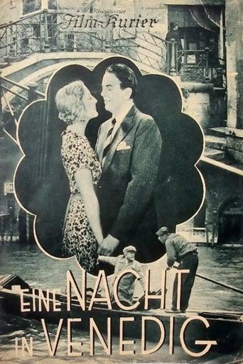 Poster of Eine Nacht in Venedig