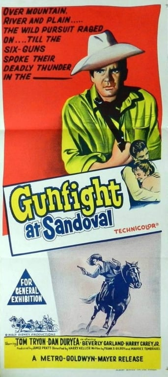 Poster of Gundown at Sandoval