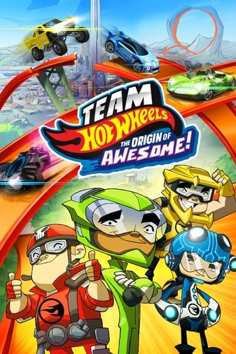 Poster of Team Hot Wheels: The Origin of Awesome!