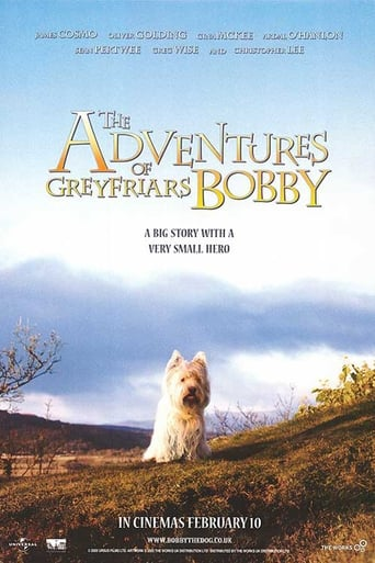 Poster of The Adventures of Greyfriars Bobby