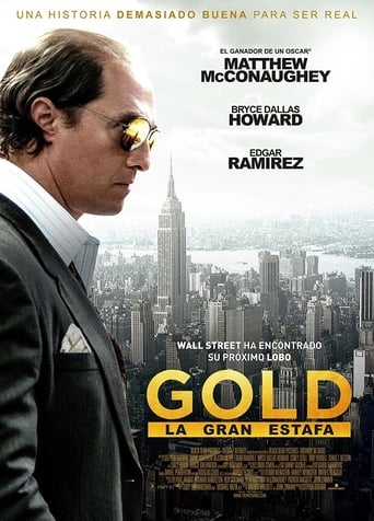 Poster of Gold, la gran estafa