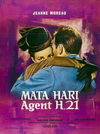 Poster of Mata Hari, agent H21