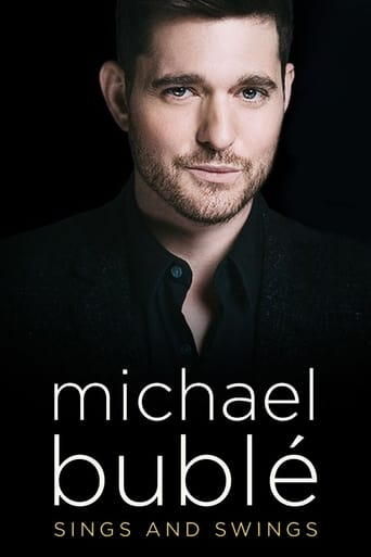 Poster of Michael Bublé Sings and Swings