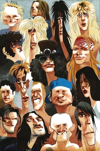 Poster of Guns N' Roses Rock & Roll Hall Of Fame Induction