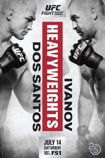 Poster of UFC Fight Night 133: dos Santos vs. Ivanov