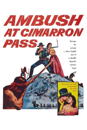 Poster of Ambush at Cimarron Pass