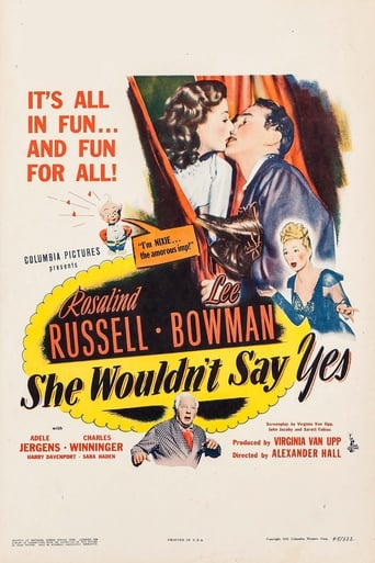 Poster of She Wouldn't Say Yes
