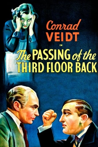Poster of The Passing of the Third Floor Back