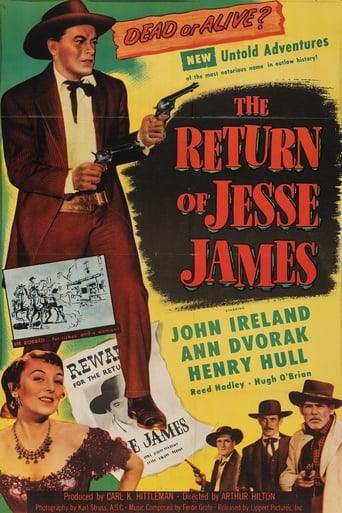 Poster of The Return of Jesse James