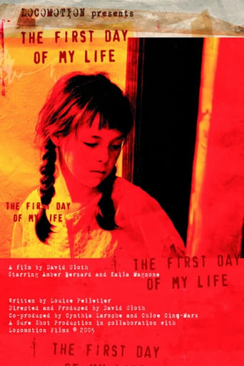 Poster of The First Day of My Life