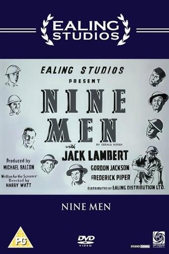 Poster of Nine Men