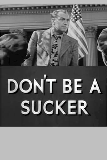 Poster of Don't Be a Sucker!