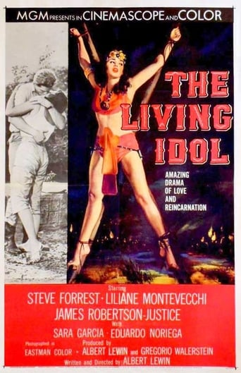 Poster of The Living Idol