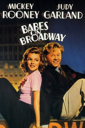 Babes on Broadway poster