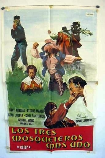 Poster of Li chiamavano i tre moschettieri... invece erano quattro