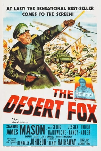 Poster of The Desert Fox: The Story of Rommel