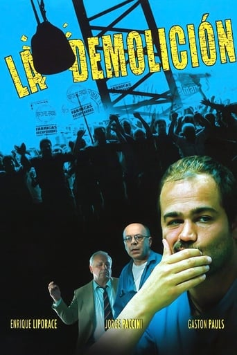 Poster of La demolición