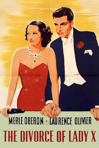 Poster of The Divorce of Lady X