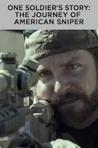 Poster of One Soldier's Story: The Journey of American Sniper