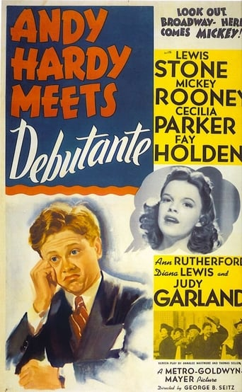 Poster of Andy Hardy Meets Debutante