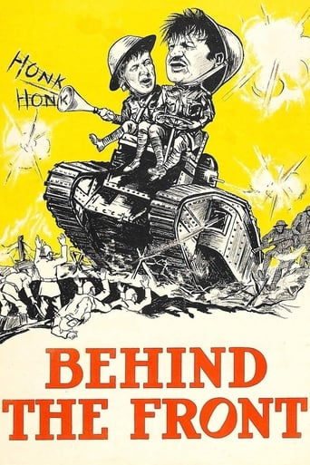 Poster of Behind the Front