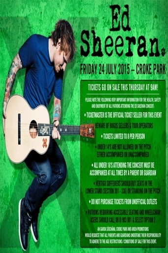 Poster of Ed Sheeran: Live in Dublin