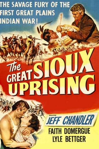 Poster of The Great Sioux Uprising