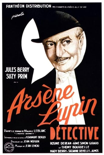 Poster of Arsene Lupin, Detective