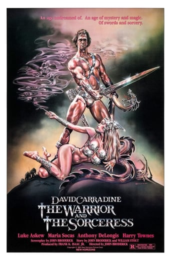 Poster of The Warrior and the Sorceress