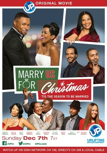 Poster of Marry Us for Christmas