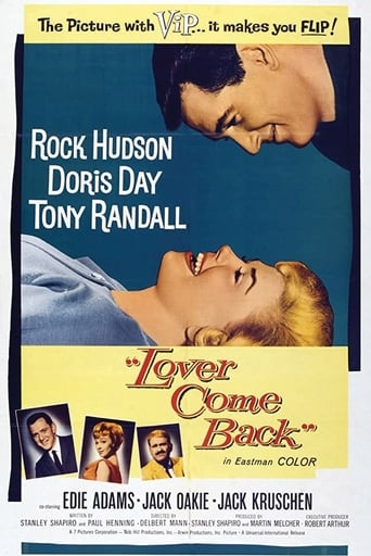 Poster of Lover Come Back