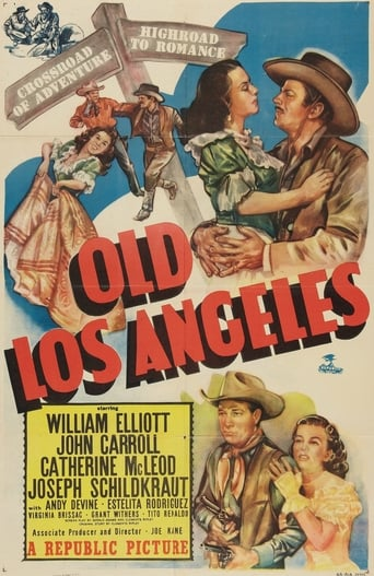 Poster of Old Los Angeles