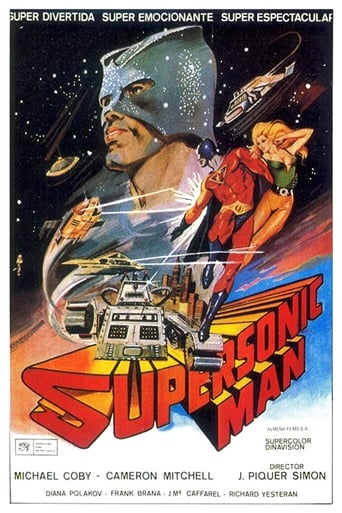 Poster of Supersonic Man