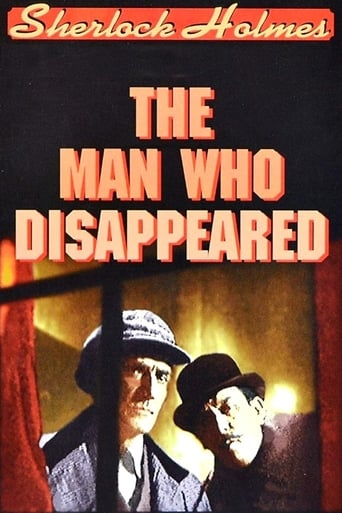 Poster of Sherlock Holmes: The Man Who Disappeared