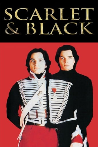 Poster of The Scarlet and the Black